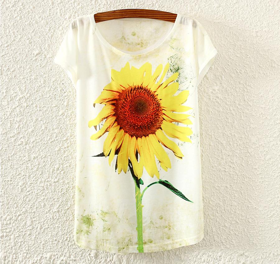 tricou_bluza_femei_fete_imprimeu_vara_print_colorat_shop_magazin_online_cumpar_floare_soarelui