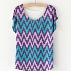 Tricou colorat dame