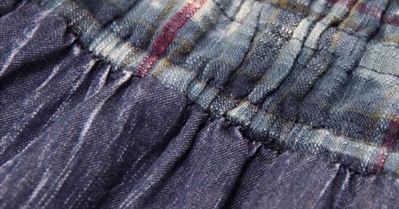 Magazin rochii din jeans blugi denim boho-chic hippie