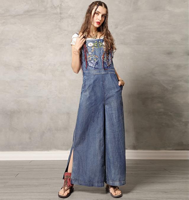 Magazin de rochii din jeans denim blugi boho hippie salopeta